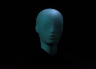 Głowa manekina